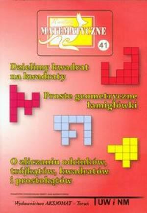 Miniatury matematyczne 41. Dzielimy - okładka podręcznika