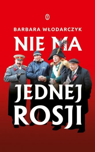 Nie ma jednej Rosji - okładka książki