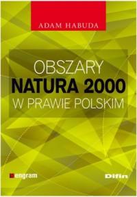 Obszary Natura 2000 w prawie polskim - okładka książki