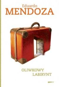 Oliwkowy labirynt - okładka książki