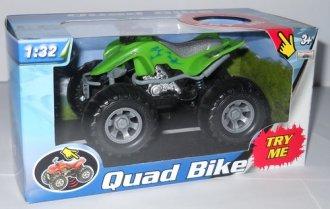 Quad z dźwiękiem (zielony) - zdjęcie zabawki, gry
