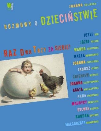 Rozmowy o dzieciństwie - okładka książki