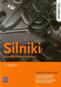 Silniki pojazdów samochodowych. - okładka podręcznika