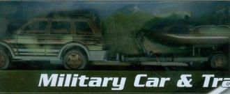 Teama military Auto + ponton - zdjęcie zabawki, gry