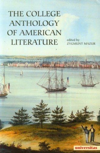 The College Anthology Of American - okładka książki
