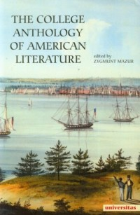 The College Anthology Of American Literature - okładka książki