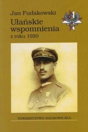 Ułańskie wspomnienia z roku 1920 - okładka książki