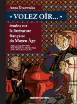 Volez oir...etudes sur la litterature - okładka książki