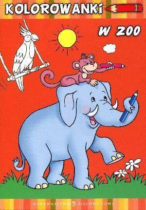 W ZOO. Kolorowanki - okładka książki