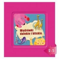 Wędrówki dalekie i bliskie (CD mp3) - pudełko audiobooku