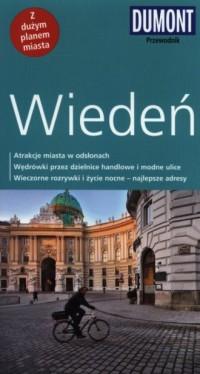Wiedeń. Przewodnik z planem miasta - okładka książki