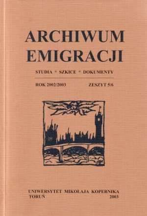 Archiwum Emigracji. Studia, szkice, - okładka książki