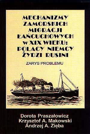 Mechanizmy zamorskich migracji - okładka książki