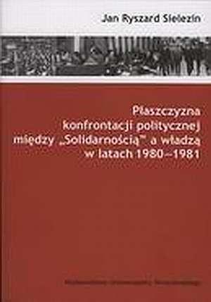 Płaszczyzna konfrontacji politycznej - okładka książki