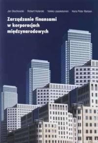 Zarządzanie finansami w korporacjach międzynarodowych - okładka książki