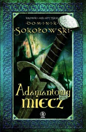 Adamantowy miecz - okładka książki