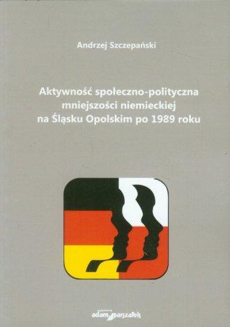 Aktywność społeczno-polityczna - okładka książki