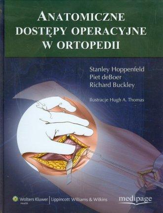Anatomiczne dostępy operacyjne - okładka książki