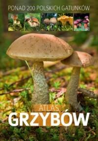 Atlas grzybów - Patrycja Zarawska - okładka książki