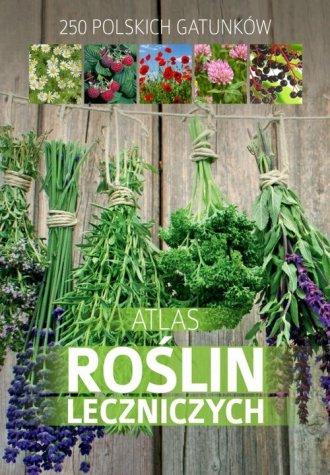 Atlas roślin leczniczych - okładka książki