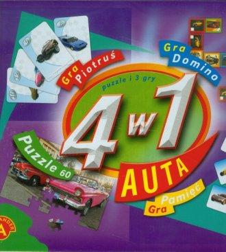 Auta (4 w 1) - zdjęcie zabawki, gry