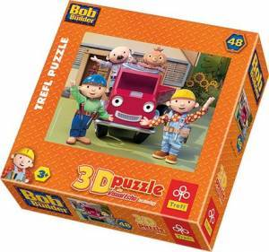 Bob z przyjaciółmi (puzzle 3D) - zdjęcie zabawki, gry
