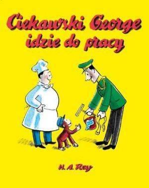 Ciekawski George idzie do pracy - pudełko audiobooku