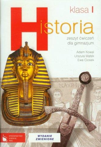 Historia. Klasa 1. Gimnazjum. Zeszyt - okładka podręcznika