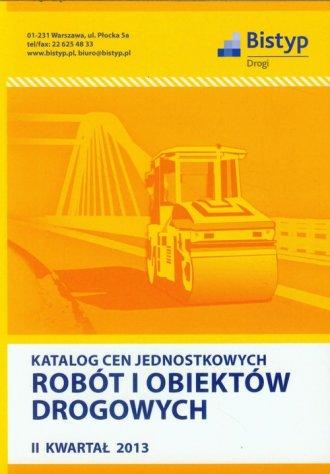 Katalog cen jednostkowych robót - okładka książki