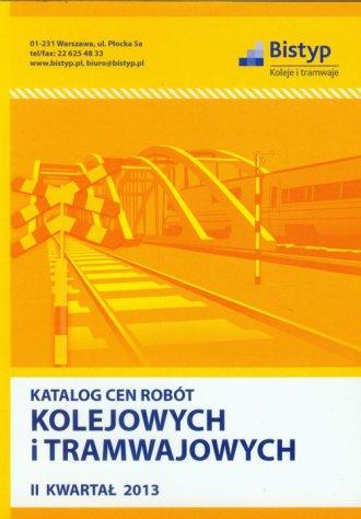 Katalog cen robót kolejowych i - okładka książki