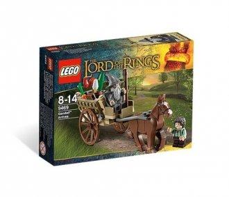 LEGO. Przybycie Gandalfa (wiek - zdjęcie zabawki, gry