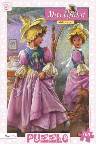 Martynka idzie na bal (puzzle) - zdjęcie zabawki, gry