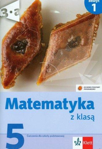 Matematyka z klasą. Klasa 5. Szkoła - okładka podręcznika