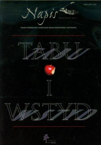 Napis. Seria XVIII 2012. Tabu i - okładka książki