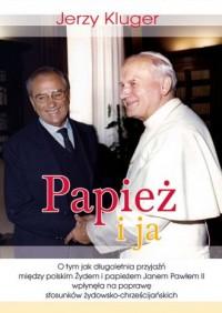 Papież i ja - okładka książki