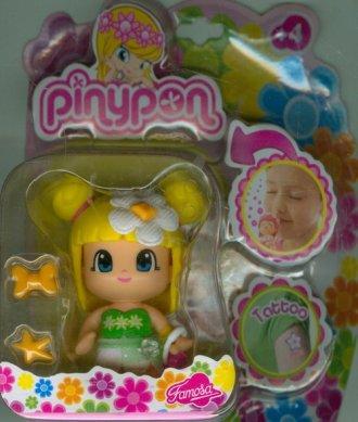 Pinypon (pachnąca laleczka żółta - zdjęcie zabawki, gry