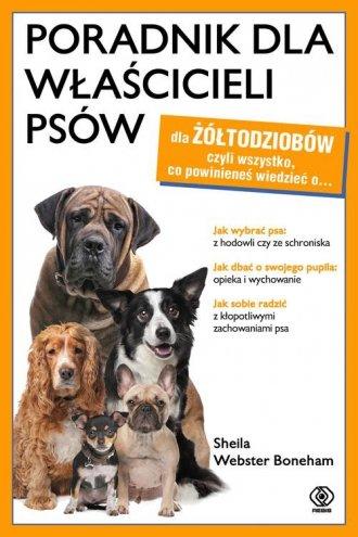 Poradnik dla właścicieli psów - okładka książki