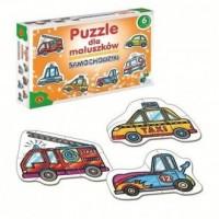 Puzzle dla maluszków. Samochodziki - zdjęcie zabawki, gry