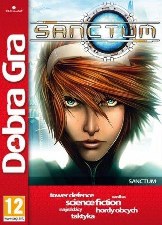Sanctum - pudełko programu