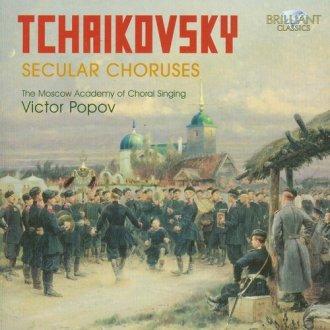 Secular Choruses - okładka płyty