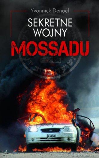 Sekretne wojny Mossadu - okładka książki