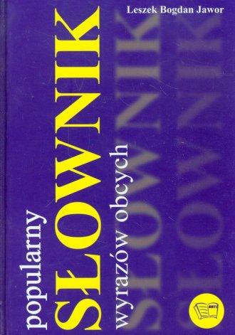 Słownik wyrazów obcych. Popularny - okładka książki