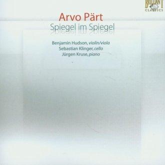 Spiegel im Spiegel - okładka płyty