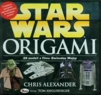Star Wars. Origami. 36 modeli z filmu Gwiezdne Wojny - okładka książki