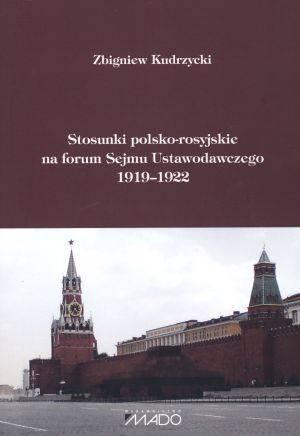 Stosunki polsko-rosyjskie na forum - okładka książki