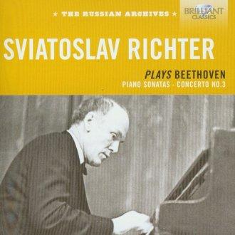 Sviatoslav Richter plays Beethoven. - okładka płyty