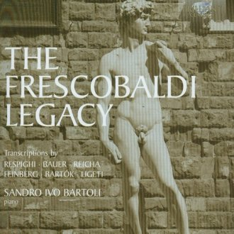 The Frescobaldi Legacy - okładka płyty