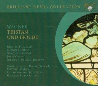 Tristan und Isolde - okładka płyty