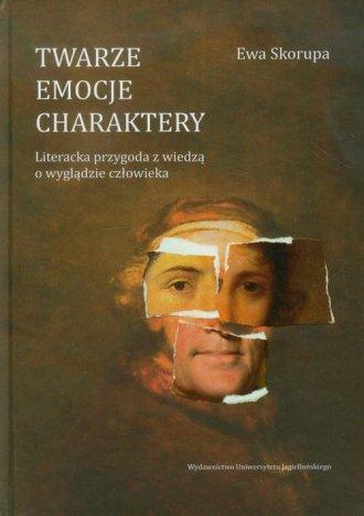 Twarze emocje charaktery. Literacka - okładka książki