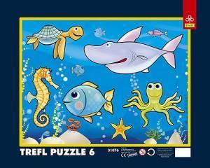 W oceanie (puzzle) - zdjęcie zabawki, gry